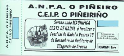SORTEO CESTA NADAL ANPA O PIÑEIRO