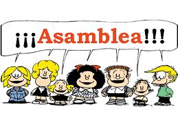 ASAMBLEA XERAL ORDINARIA -MERCORES 20 SETEMBRO